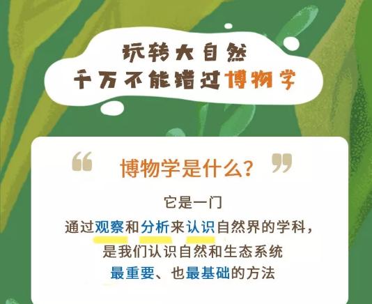 给孩子的博物启蒙课程讲师:张辰亮,带你玩转大自然!