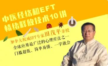 田茂平中医经络理论和EFT情绪释放技术10讲,简单易懂一学就会!