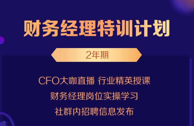 财务经理特训计划2年,罗杰夫、朱长胜、谭天老师课程